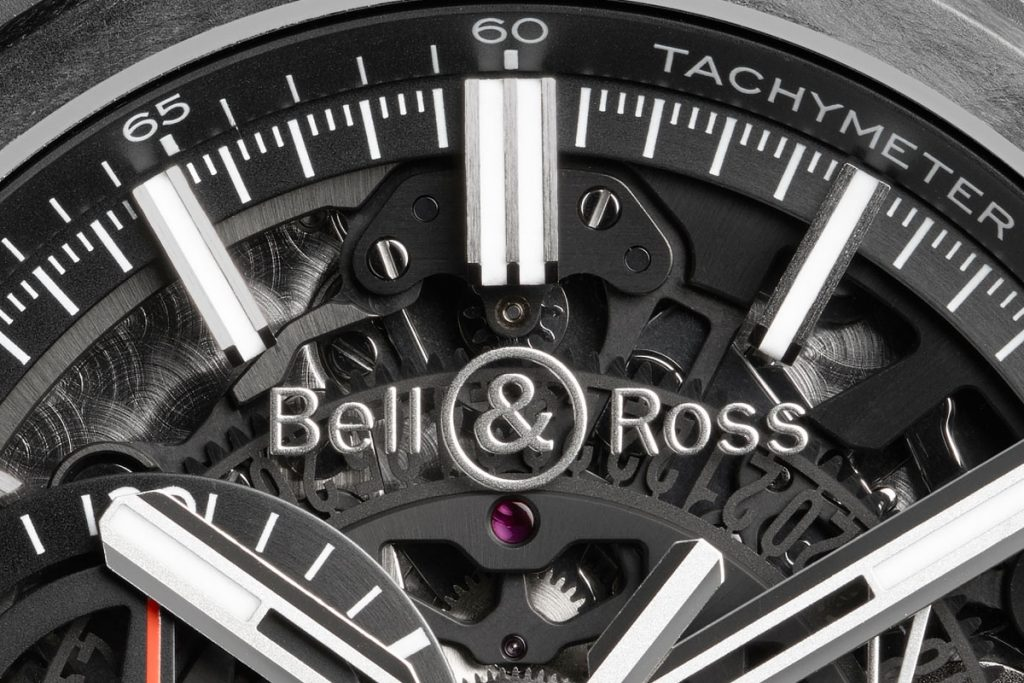 Bell & Ross BR-X1 Skeleton Chronograph Carbon Forgé Replica
