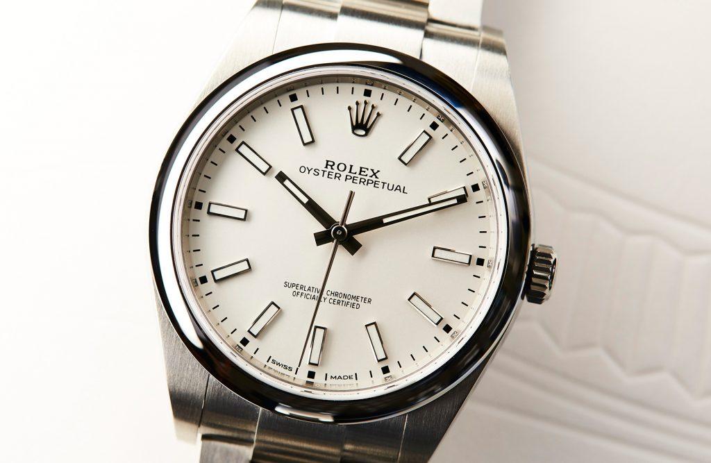 Rolex Oyster Perpetual 39 Bianca Replica